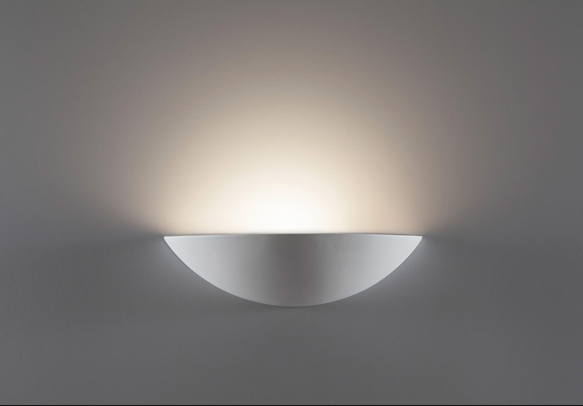 Applique in gesso belfiore 8914c lampada da soffitto cristaly di