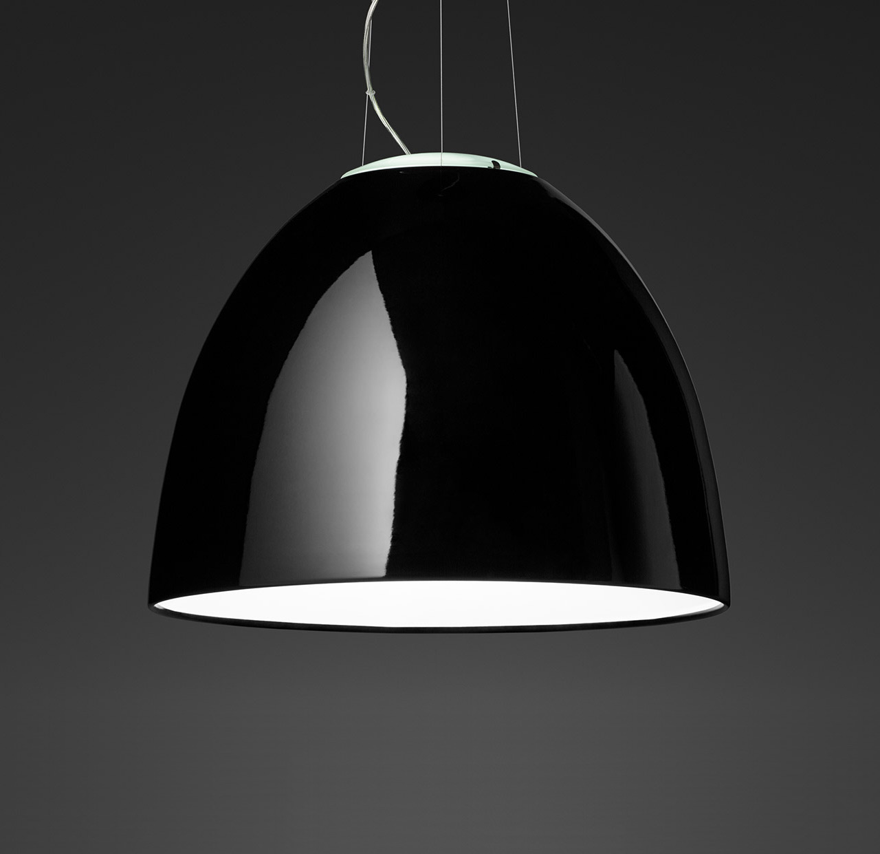 Lampe Artemide Nur Mini Gloss Sospensione Pendant Lamp By Artemide