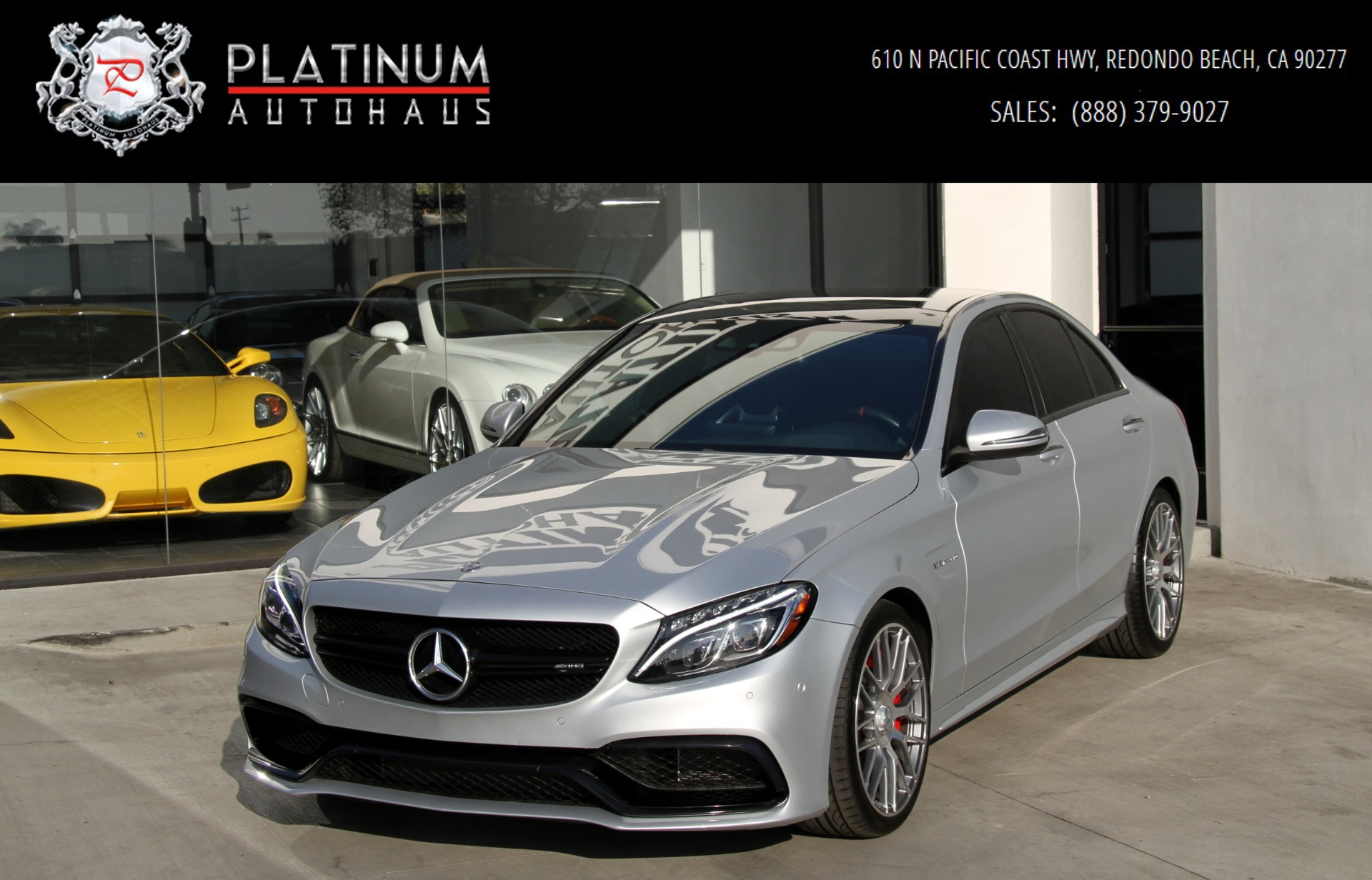 Mercedes Garage Near Me 2016 Mercedes Benz C63 S Amg Stock 6004 For Sale Near Redondo