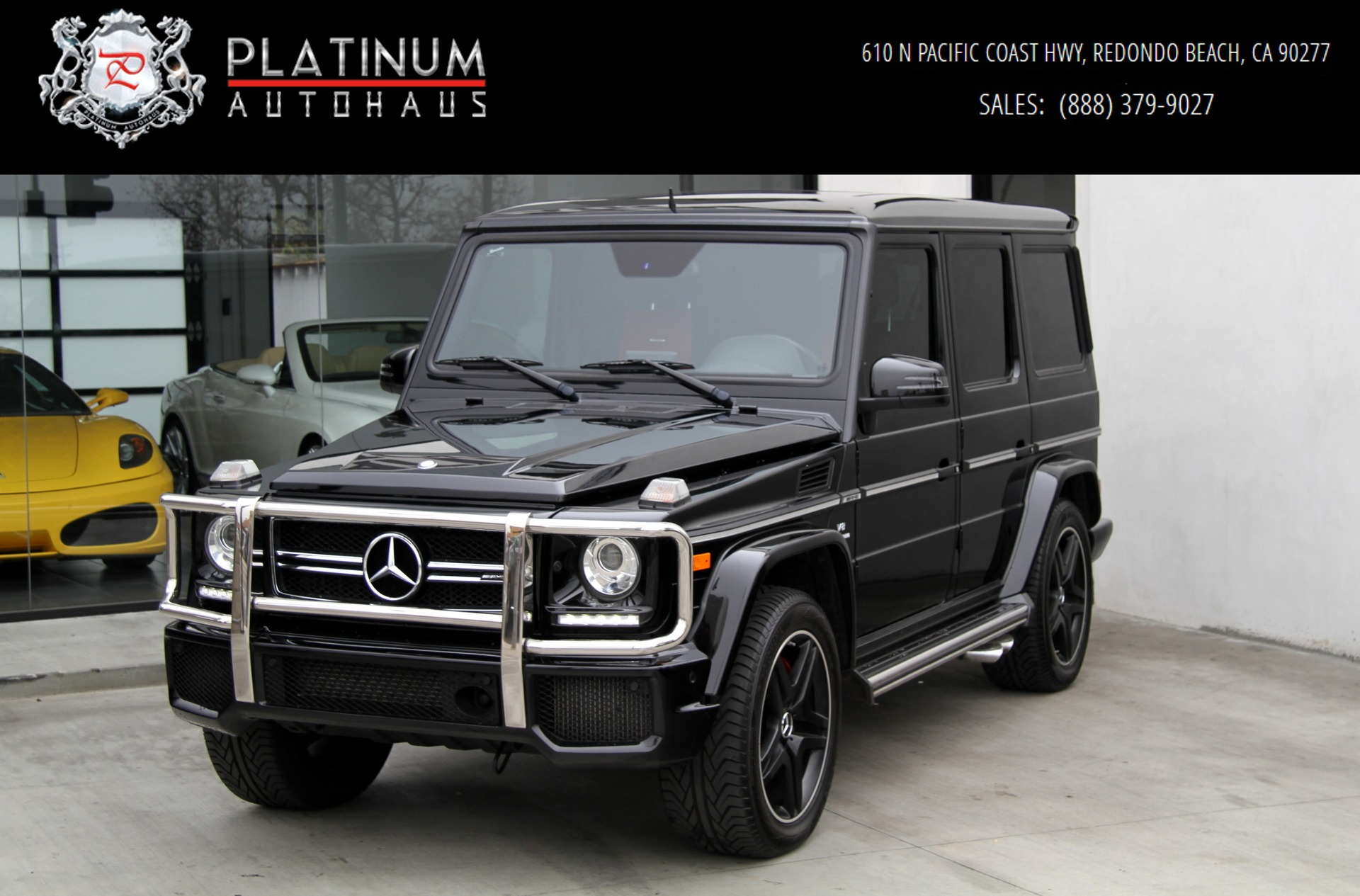 Mercedes Garage Near Me 2015 Mercedes Benz G63 Amg 4matic Diamond Stitched Seats G 63