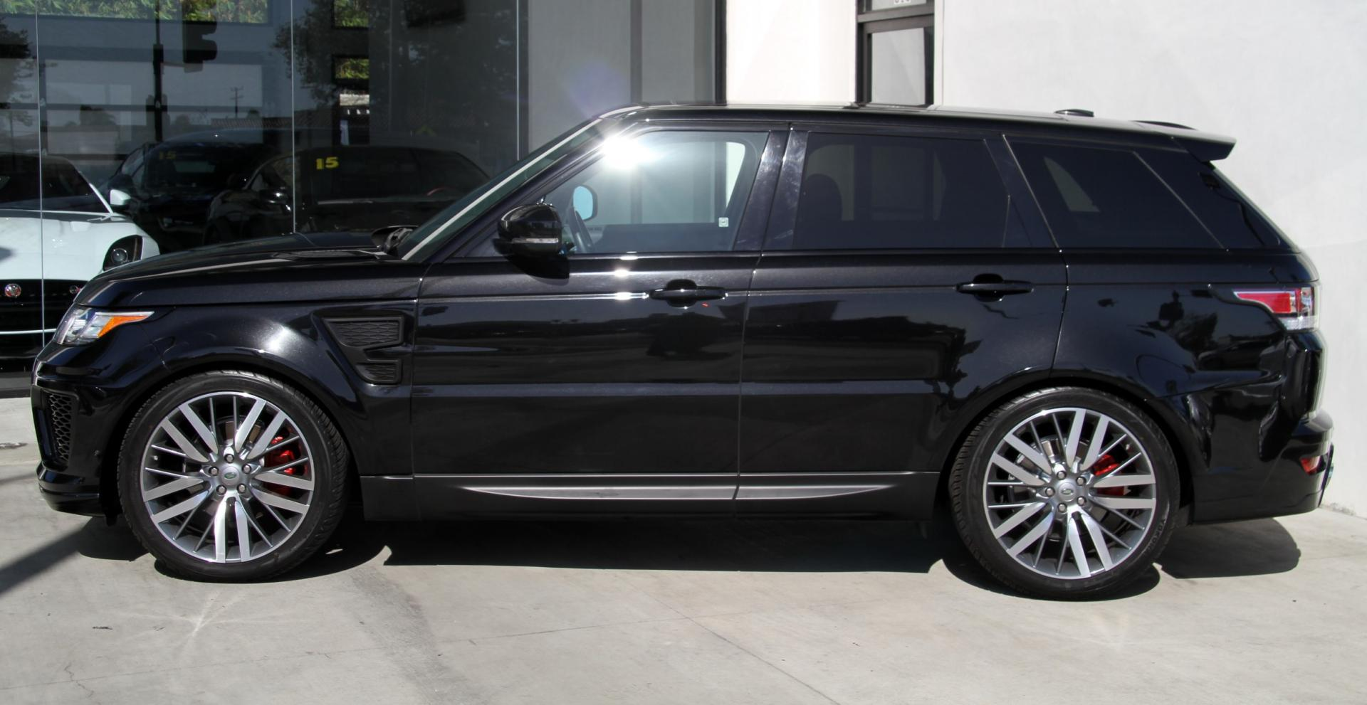 Garage Sale Rover 2014 Land Rover Range Rover Sport Svr Aero Package Stock