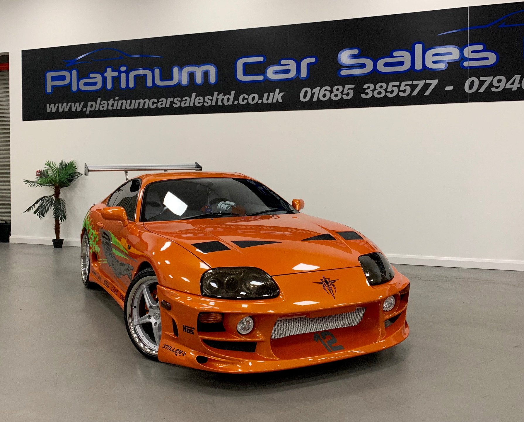 Toyota Supra From The Fast And The Furious Used Toyota Supra 2jz The Fast And The Furious Orange 3 Coupe
