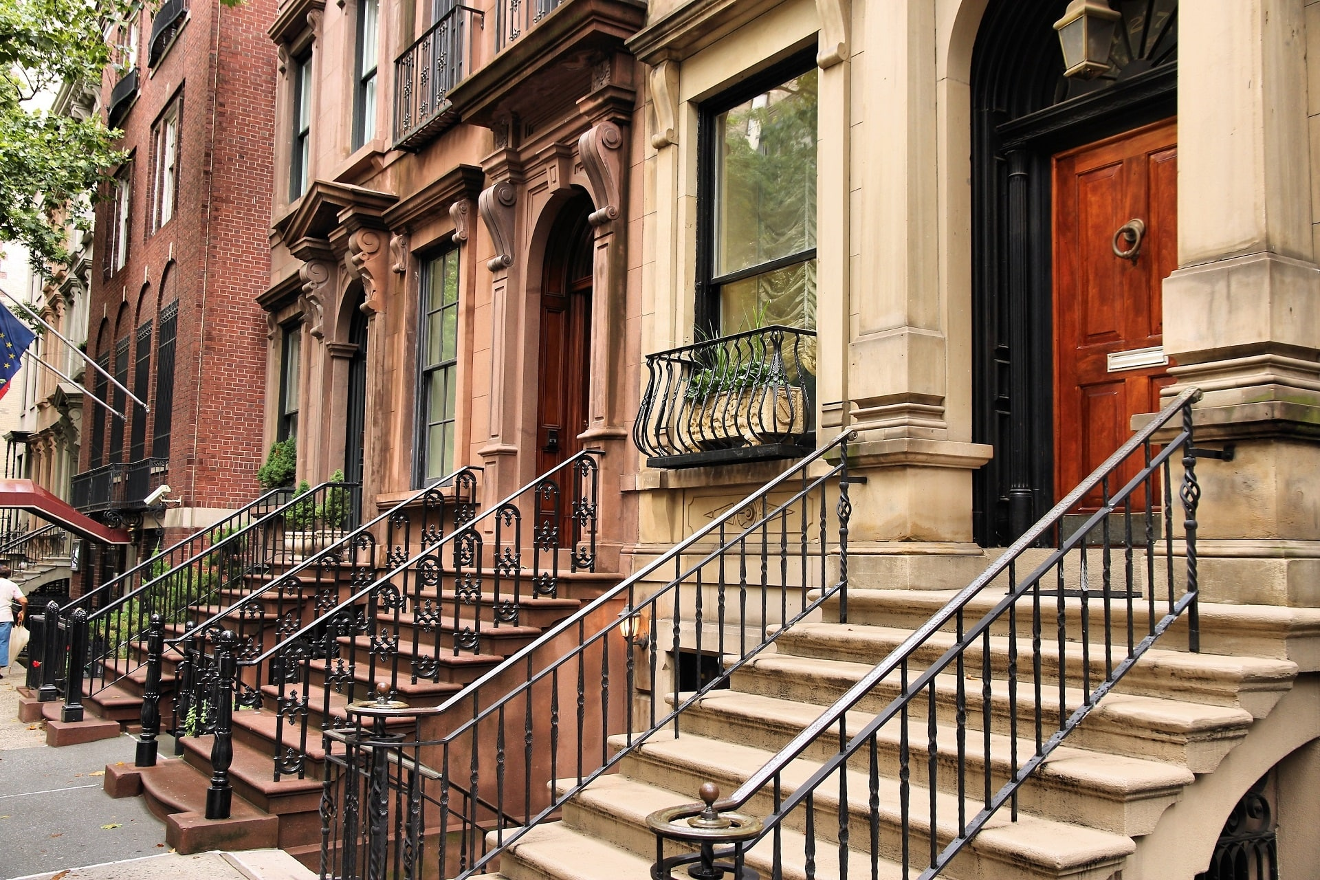 Brownstone House Chicago Brownstone: The Material That Became An Architectural