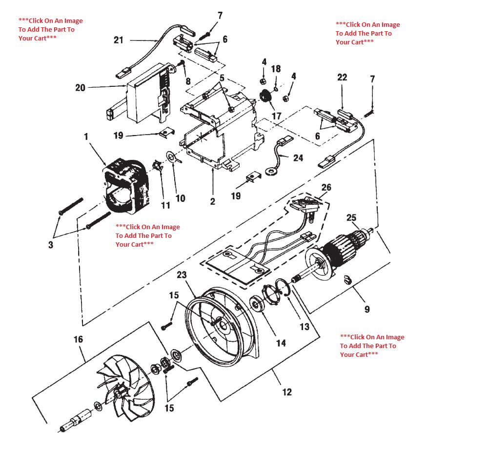 vacuum cleaner motor wiring diagram