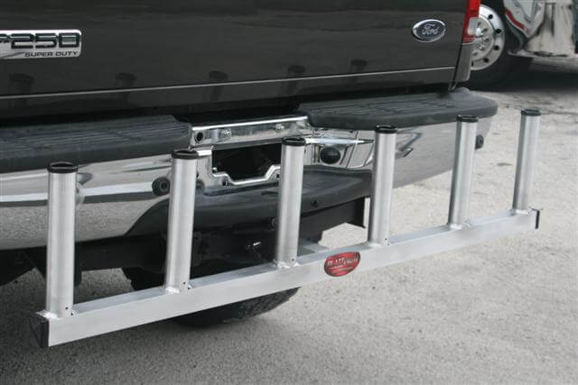 Deep Sea Rod Holder For Receiver Hitch Plattinum Products