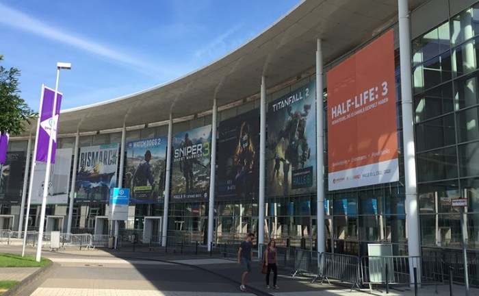 gamescom 2016 entrance
