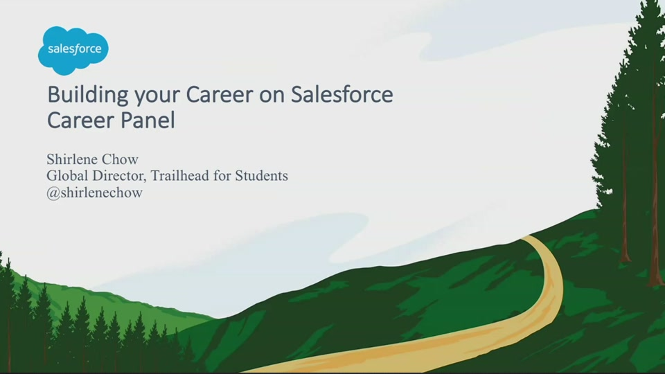 Building Your Career on Salesforce - Salesforce Live