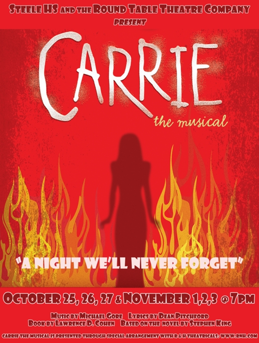Carrie the Musical at Byron P Steele II - Performances October 25