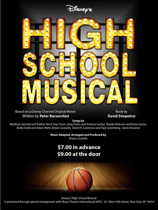 Disney\u0027s High School Musical at Thomas Jefferson High School (San