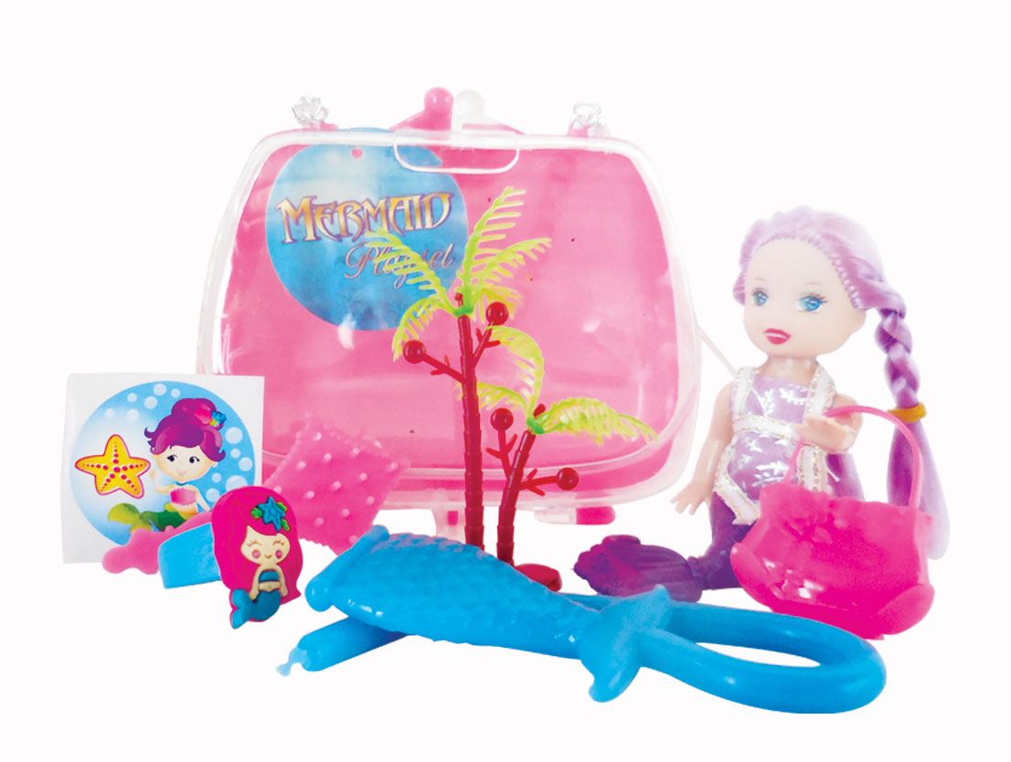 Mermaid Gift Ideas Mermaid Doll Set Goodie Bag Playfunparty Party Favors