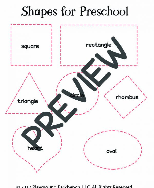 One Simple Hands-On Way to Teach Your Preschooler Shapes