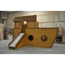 Small Crop Of Pirate Ship Playhouse