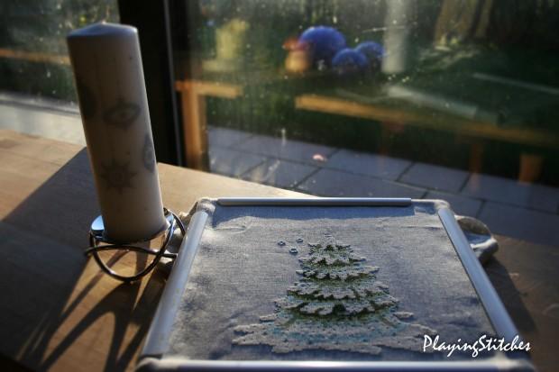 [:ru]Нора Корбетт Новогодняя Елочка 2010 вышита шелковыми ниточками Crescent Colors