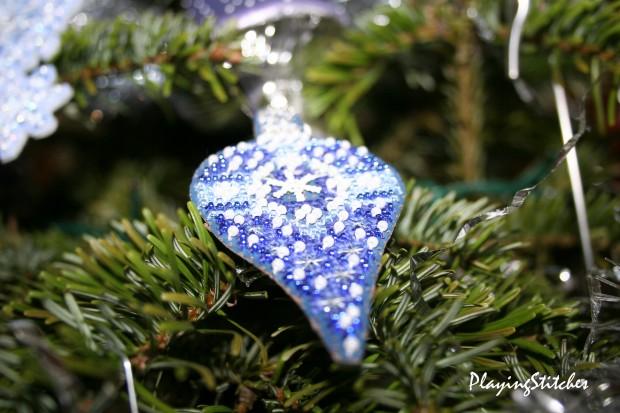 [:ru]Милл Хилл Новогодние украшения сапфир елочное украшение