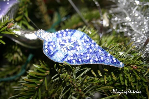 [:ru]Милл Хилл Новогодние украшения сапфировая подвеска