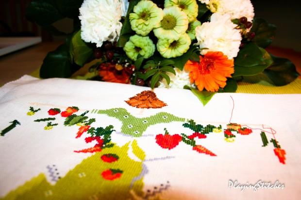[:ru]Liebevolle Kreuztichentwurfe Лулу Белл в огороде салатовое платье