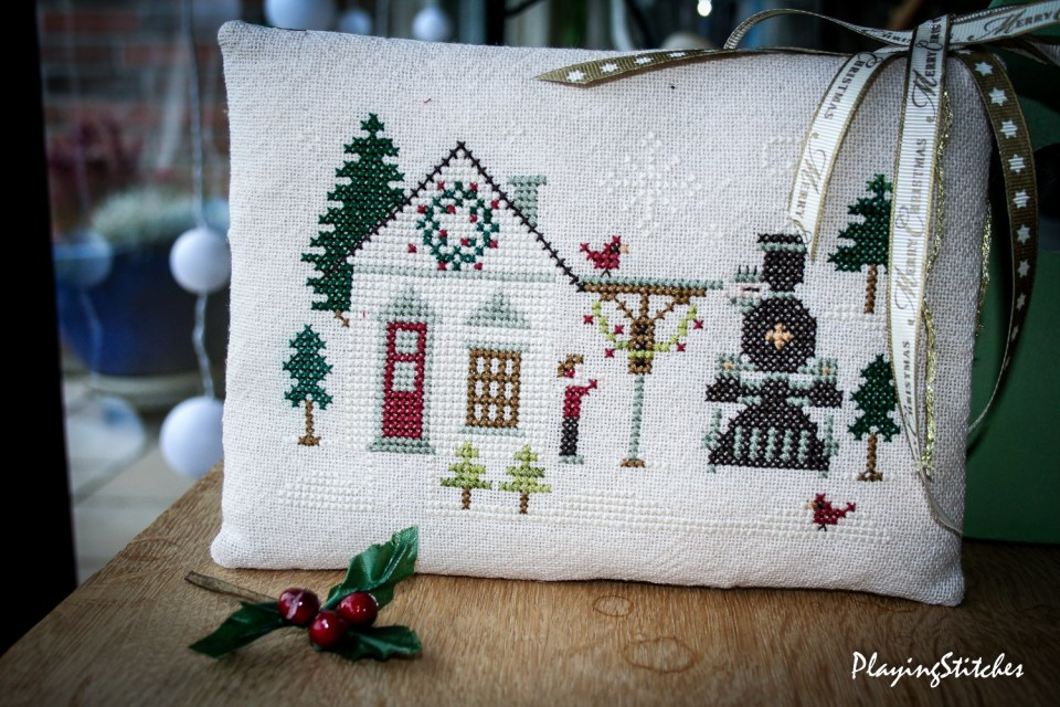 Main Train Station Little House Needleworks PlayingStitches-1-2