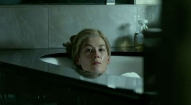 Rosamund Pile Gone Girl bathtub