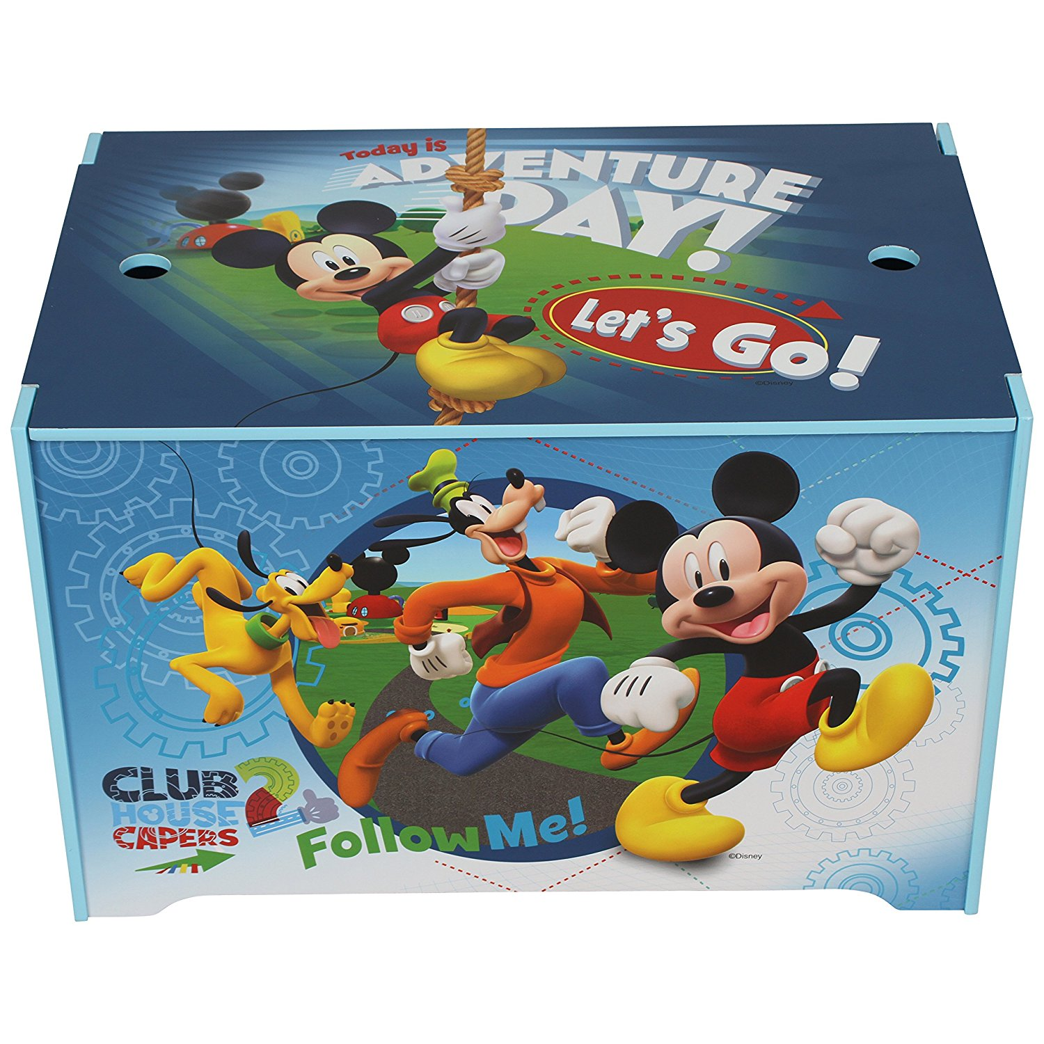 Toy Box Toys Details About Disney Mickey Mouse Toy Box Toy Chest Storage Box For Toys Books Clothes