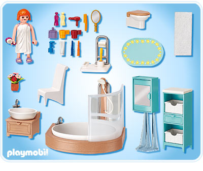 Schön 5330_backjpg 400×336 Pixels Toys Pinterest Playmobil And Toy   Playmobil  Badezimmer 4285