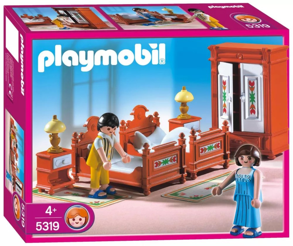 Chambre Playmobil Playmobil Dollhouse 5319 Parents Chambre Traditionnelle