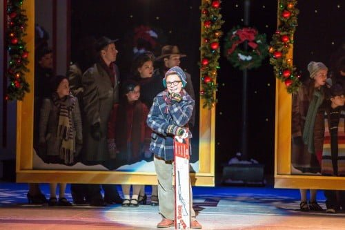 Jake Goodman in A Christmas Story, the Musical. Photo by Christian Brown