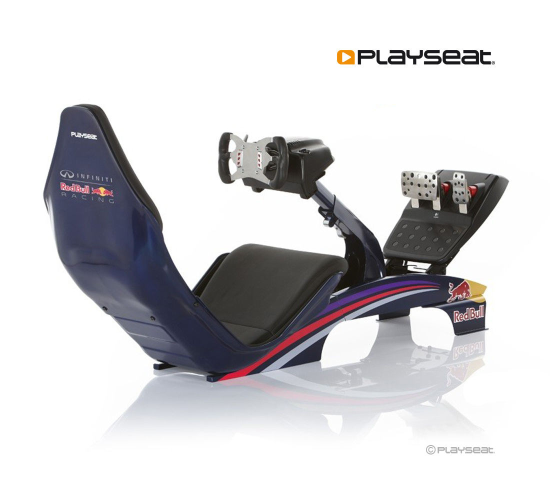 Gaming Sessel Mit Lenkrad Playseat F1 Red Bull Racing