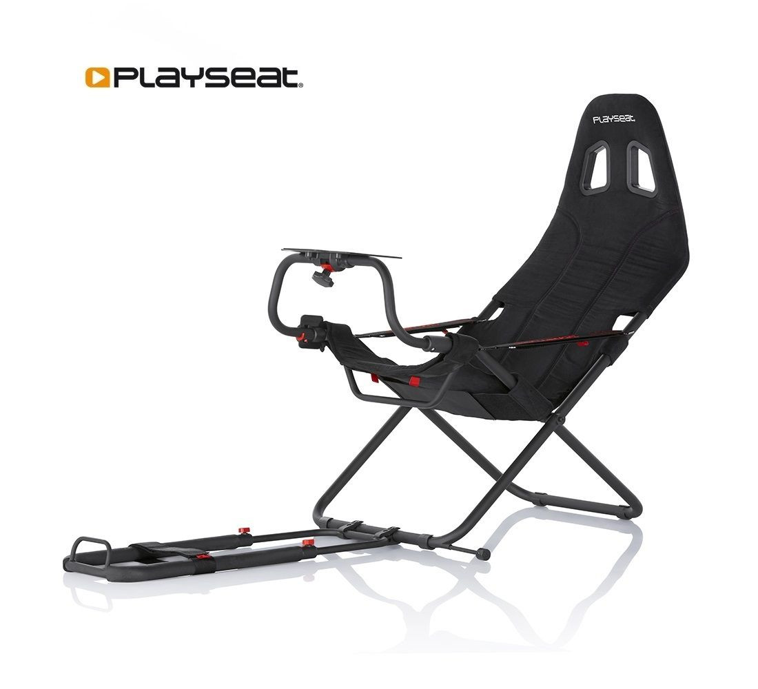 Gaming Sessel Mit Lenkrad Playseat Challenge Ready To Race Paket
