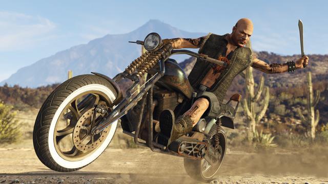 GTA5 bikers