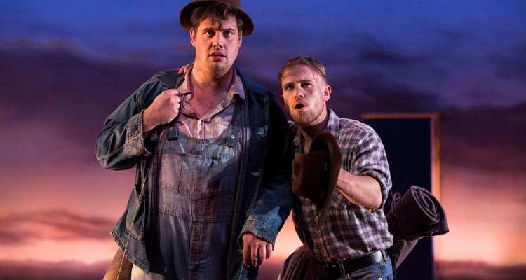Of Mice and Men - Birmingham Repertory Theatre Photo Ellie Kurtz 02