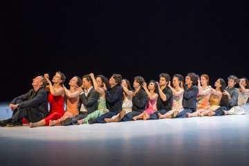 Tanztheater Wuppertal Pina Bausch como el musguito en la piedra Sadlers Wells