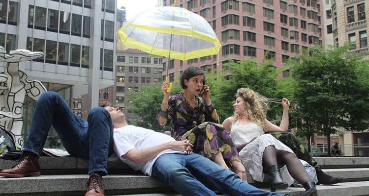 The Present of Paulina Part of Broken City: Wall Street