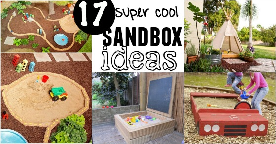17 Creative Diy Sandbox Ideas Playtivities