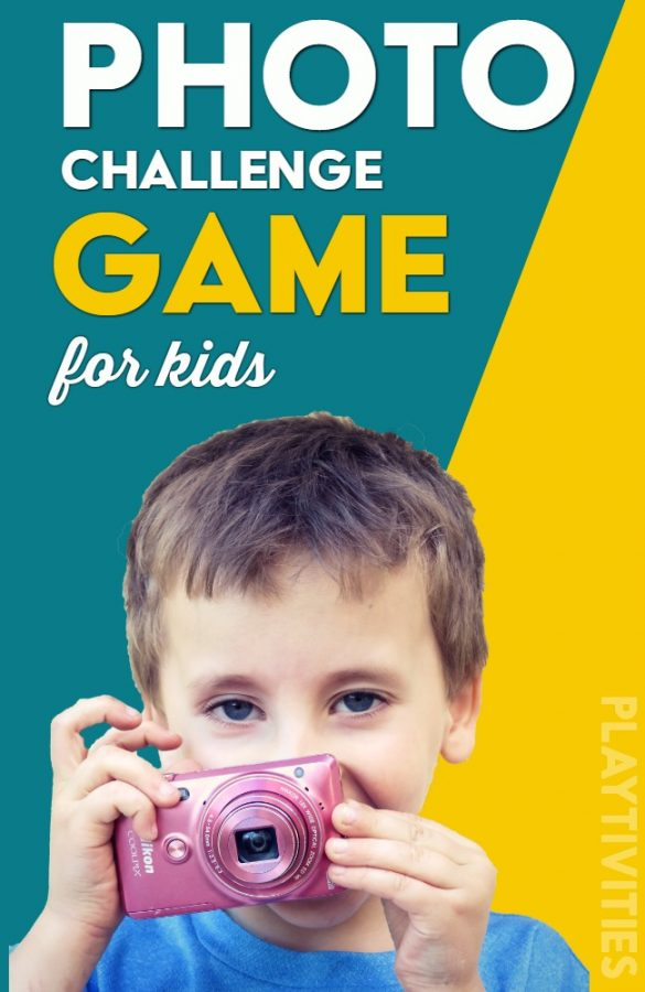 Photo Challenge Game For Kids - PLAYTIVITIES