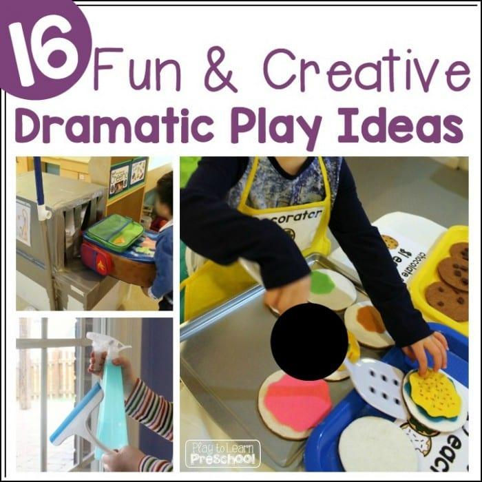 16 Fun  Creative Dramatic Play Ideas for Preschoolers