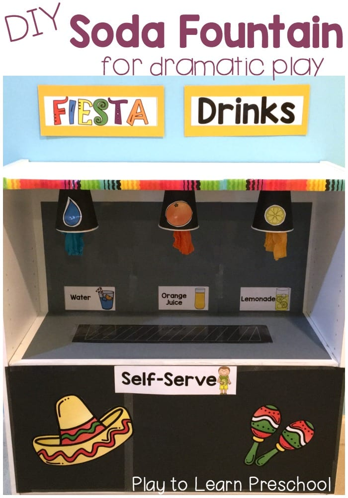 Fountain Drink Machine An Exciting Dramatic Play Addition