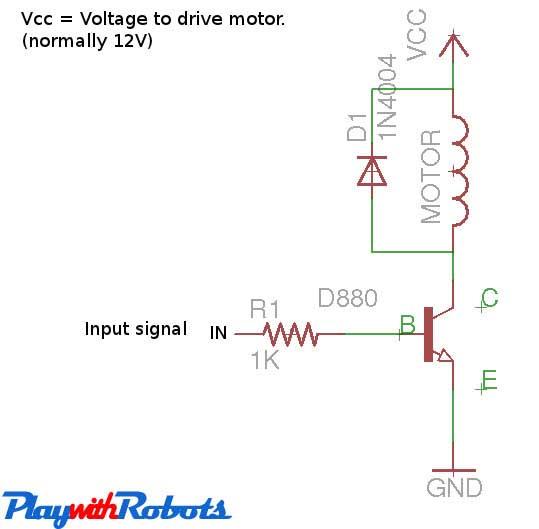 DC-Motor Driver circuits