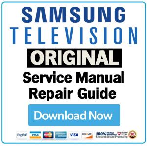 Samsung UN60ES7150 UN60ES7150F Television Service Manual Download