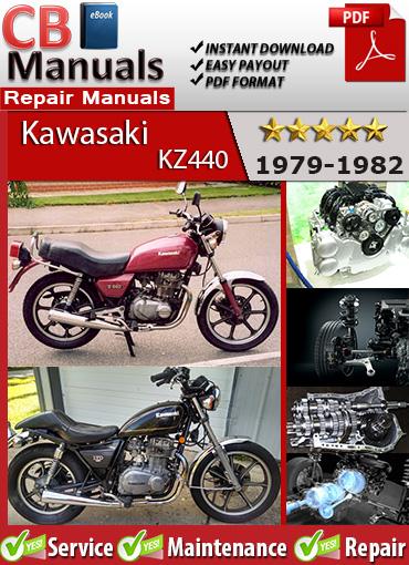 Kawasaki KZ440 1979-1982 Service Repair Manual eBooks Automotive