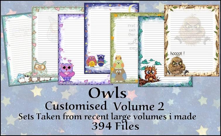 Printable Stationary Designs Custom Stationary Selection Volume