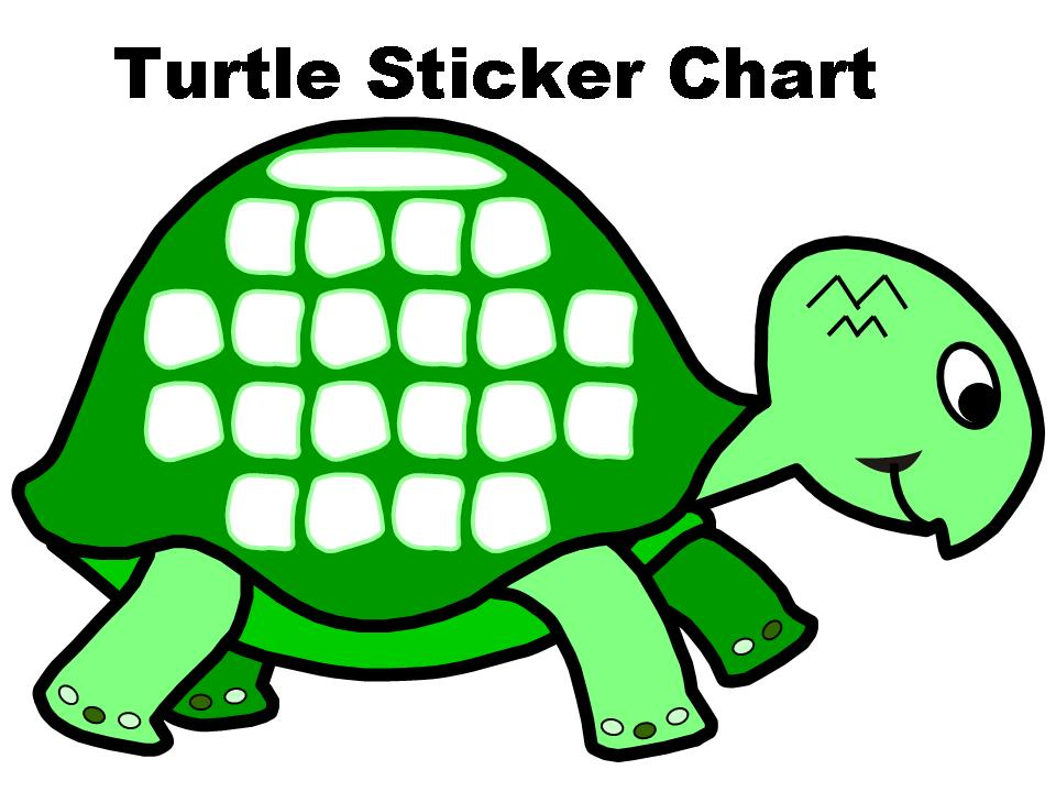Turtle Sticker Chart Set Other Files Documents and Forms