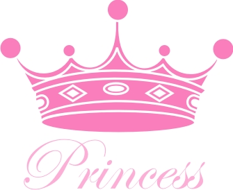Princess Crown Machine Embroidery File Crafting Sewing