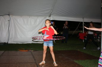 Hula Hoop Contest Winner - Claire Blabeck - age 9