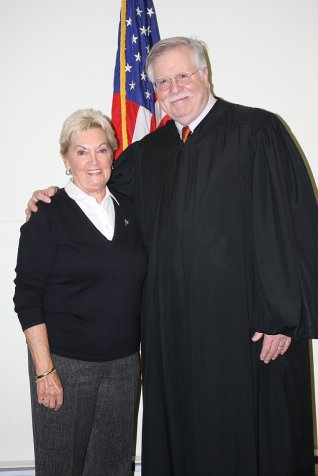 Penny Hickman and the Honorable Peter Forman