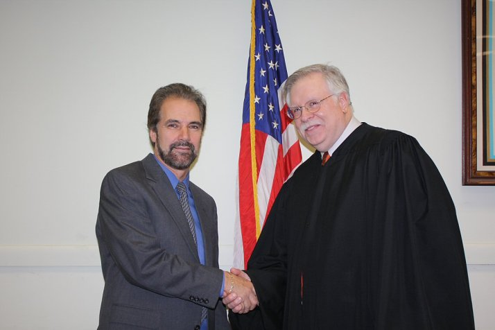 Mark Figliozzi and the Honorable Peter Forman