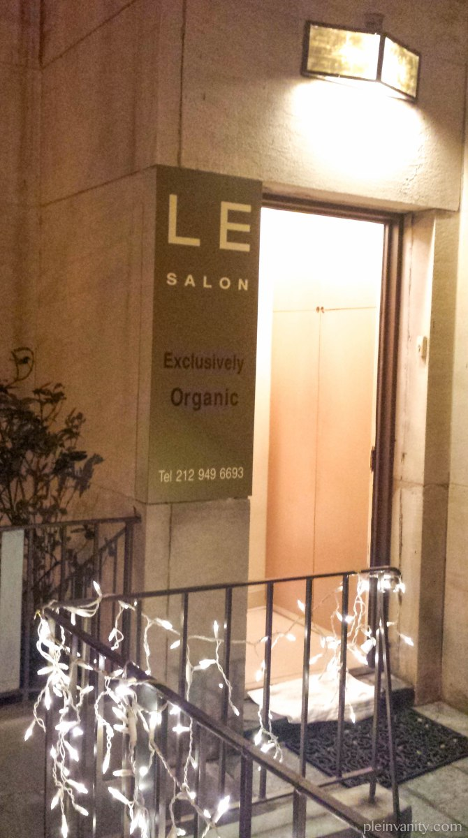 Squeaky Clean and Green: Le Salon NYC Organic Salon Review