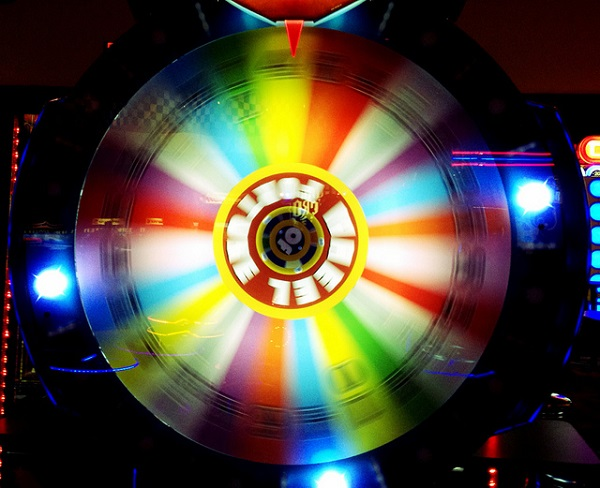 """Spinning wheel of fortune"" by RoniLoren is licensed under CC BY-ND 2.0."