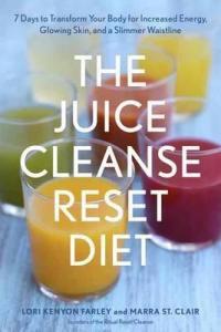 the juice cleanse reset diet book