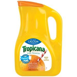 vitamin d in orange juice