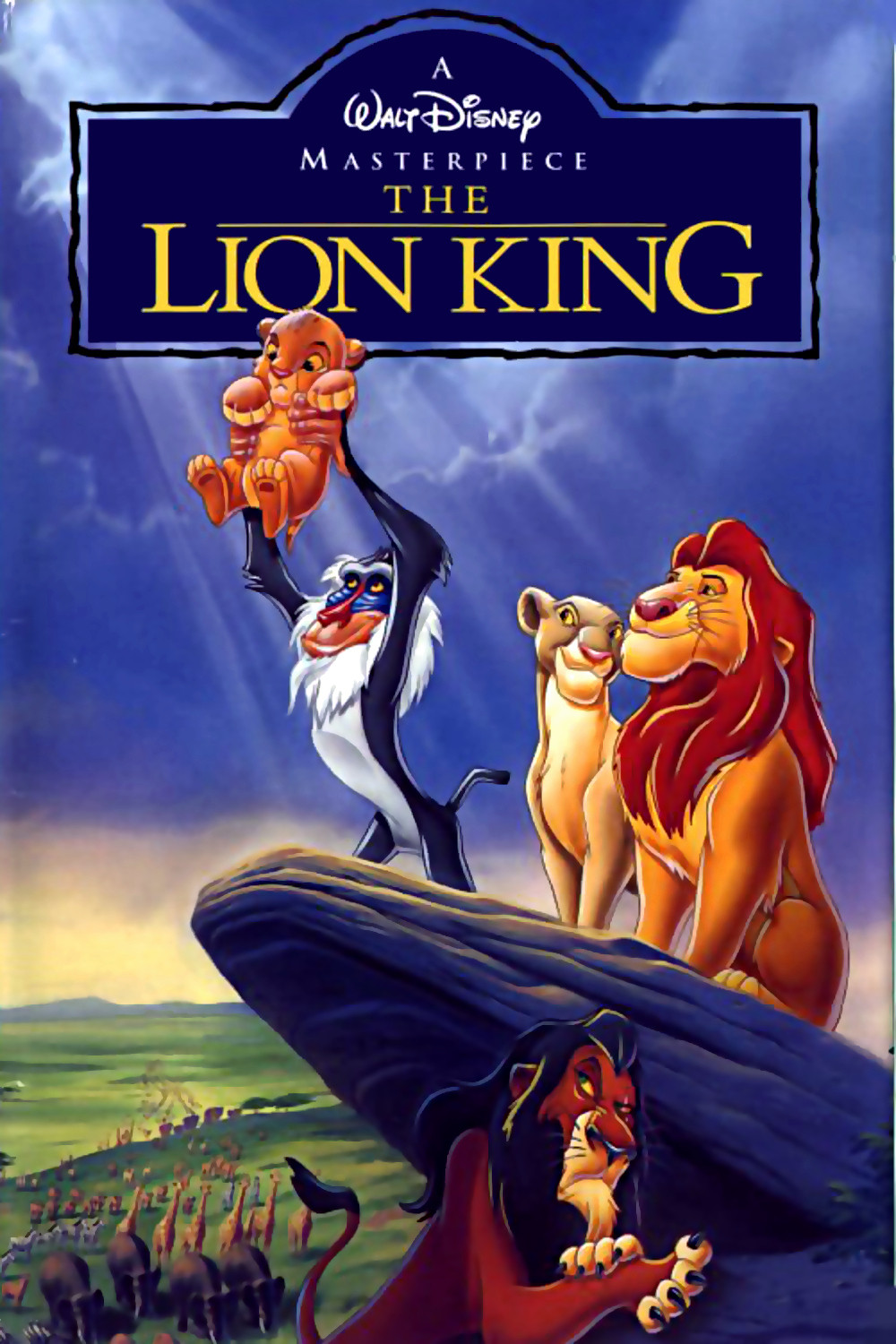 disney the lion king movie characters